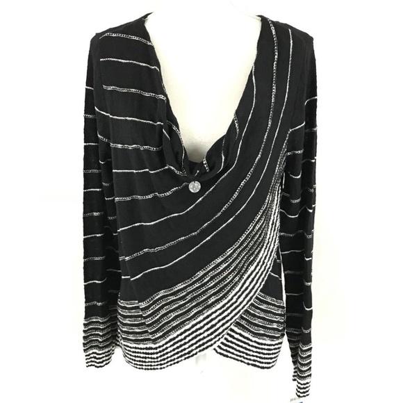 INC International Concepts Sweaters   Waterfall Asymmetric Thin Knit ...